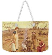 The Stick Fire Weekender Tote Bag