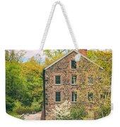 The Stone Mill In Spring Weekender Tote Bag