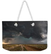 The Storm - Massive Thunderstorm Over Texas Panhandle Weekender Tote Bag