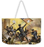 The Storming Of The Fortress At Chapultec Weekender Tote Bag by English School
