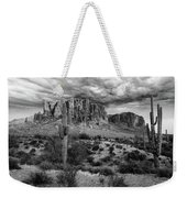 The Stormy Superstitions Weekender Tote Bag
