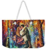 The Story Of The Umbrella Weekender Tote Bag