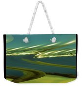 The Story Of Waves And Wind Weekender Tote Bag