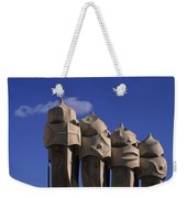 The Strangely Shaped Rooftop Chimneys Weekender Tote Bag
