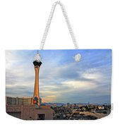 The Stratosphere In Las Vegas Weekender Tote Bag