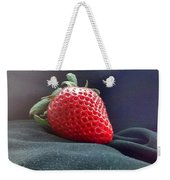 The Strawberry Portrait Weekender Tote Bag