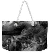 The Stream In Bw Weekender Tote Bag