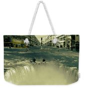 The Street Fall Weekender Tote Bag