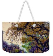 The Street Trees Weekender Tote Bag