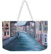 The Streets Of Italy Weekender Tote Bag