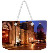 The Streets Of Montreal Weekender Tote Bag