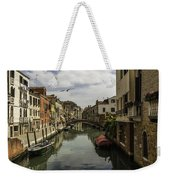 The Streets Of Venice Weekender Tote Bag