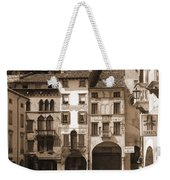 The Streets Of Vittorio Veneto Weekender Tote Bag