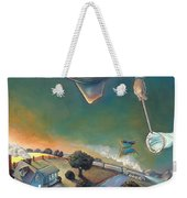 The Strife Of Wanderlust In A Dream Weekender Tote Bag