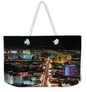 The Strip At Las Vegas,nevada Weekender Tote Bag