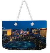 The Strip Las Vegas Weekender Tote Bag