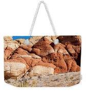The Striped Rock Weekender Tote Bag