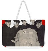 The Sullivan Brothers - They Did Their Part Weekender Tote Bag