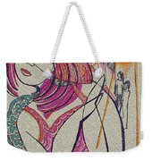 The Sun And The Girl Weekender Tote Bag