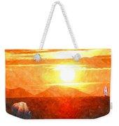 The Sun Dance Weekender Tote Bag