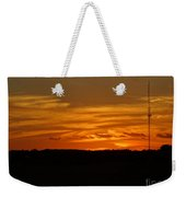 The Sun Has Set In Cape Cod Weekender Tote Bag