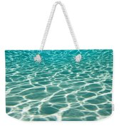 The Sun Is Reflected In Patterns Weekender Tote Bag