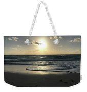 The Sun Is Rising Over The Ocean Weekender Tote Bag
