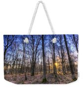 The Sun Ray Forest Weekender Tote Bag