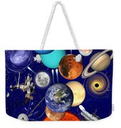 The Sunflower Solar System Weekender Tote Bag