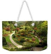 The Sunken Garden At Butchart Gardnes Weekender Tote Bag