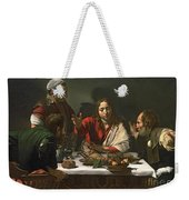 The Supper At Emmaus Weekender Tote Bag