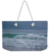 The Surf Rolls In At Holmes Beach Weekender Tote Bag