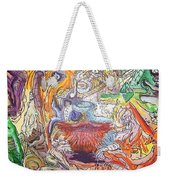 The Surreal Caturday  Weekender Tote Bag