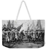 The Surrender Of Cornwallis At Yorktown Weekender Tote Bag