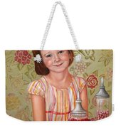 The Sweet Sneak Weekender Tote Bag