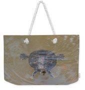 The Swimming Turtle Weekender Tote Bag