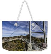 The Swinging Bridge Of Grandfather Mountain Weekender Tote Bag