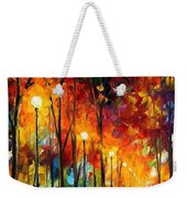 The Symphony Of Light Weekender Tote Bag