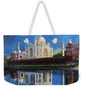 The Taj Mahal Shrine Of Beauty Weekender Tote Bag