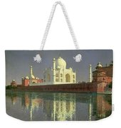 The Taj Mahal Weekender Tote Bag by Vasili Vasilievich Vereshchagin