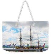 The Tall Ship Hermione - Philadelphia Pa Weekender Tote Bag