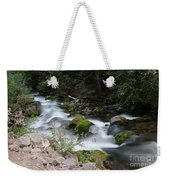 The Tananamawas Flowing Through The Forest Weekender Tote Bag