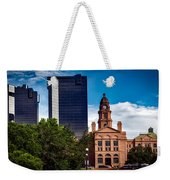 The Tarrant County Courthouse Weekender Tote Bag