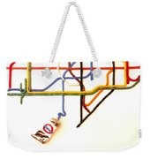 The Tate Gallery - National Galleries And Museums - London Underground - Retro Travel Poster Weekender Tote Bag