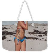 The Tattooed Lady Weekender Tote Bag