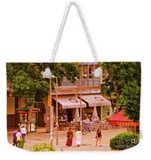 The Tavern On The Plaza - Spain Weekender Tote Bag