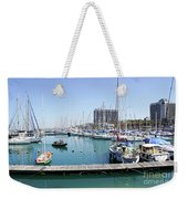 The Tel Aviv Marina  Weekender Tote Bag