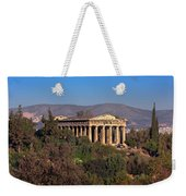 The Temple Of Hephaestus In The Morning, Athens, Greece Weekender Tote Bag