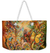 The Temptation Of Adam Weekender Tote Bag