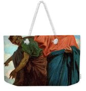 The Temptation Of Christ By The Devil Weekender Tote Bag
